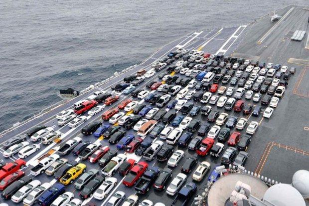 واردات بیش از ۵۸ هزار دستگاه خودرو به کشور